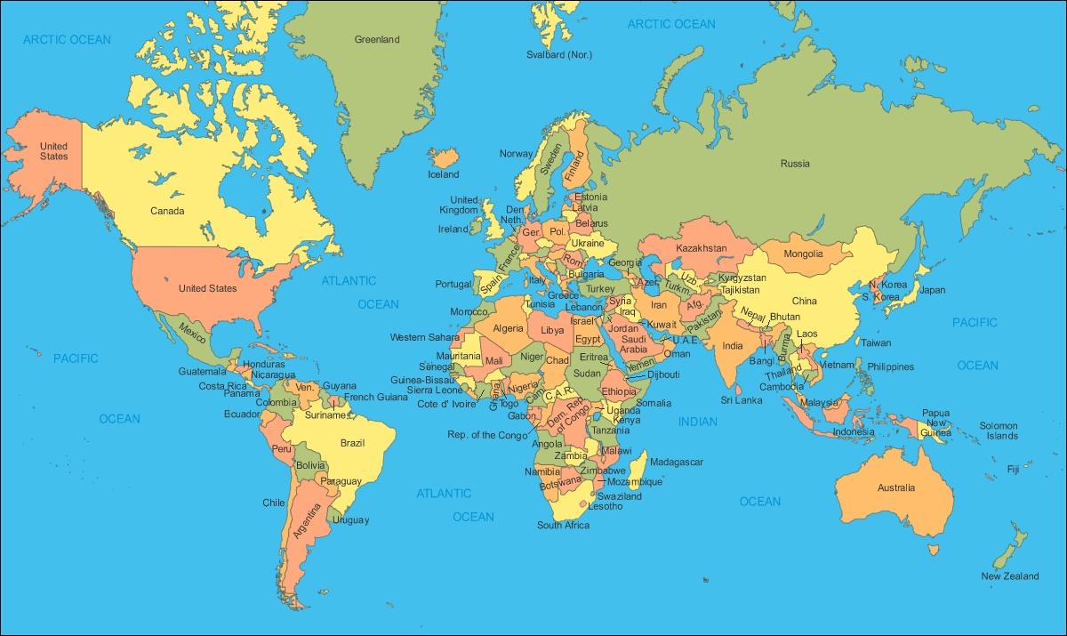 karta sveta mora Osnovna škola Turnić Rijeka   Naslovnica   Svjetski dan oceana karta sveta mora